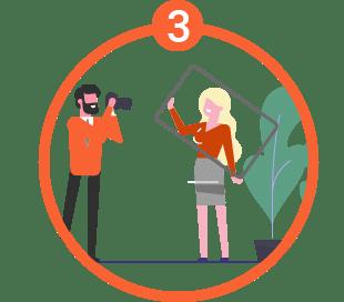 Schritt 3 zu Ihren Industriefotos