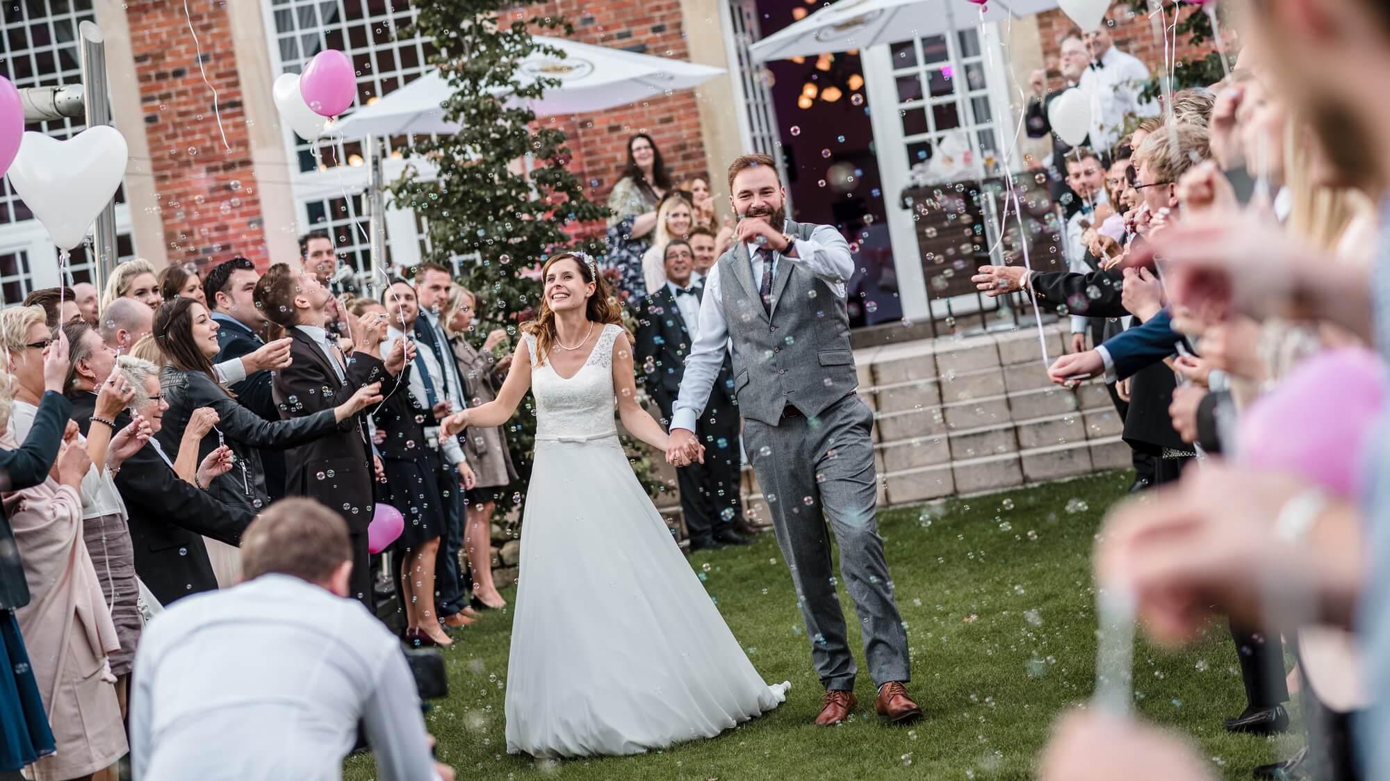 Hochzeitsfoto von Grubenglück