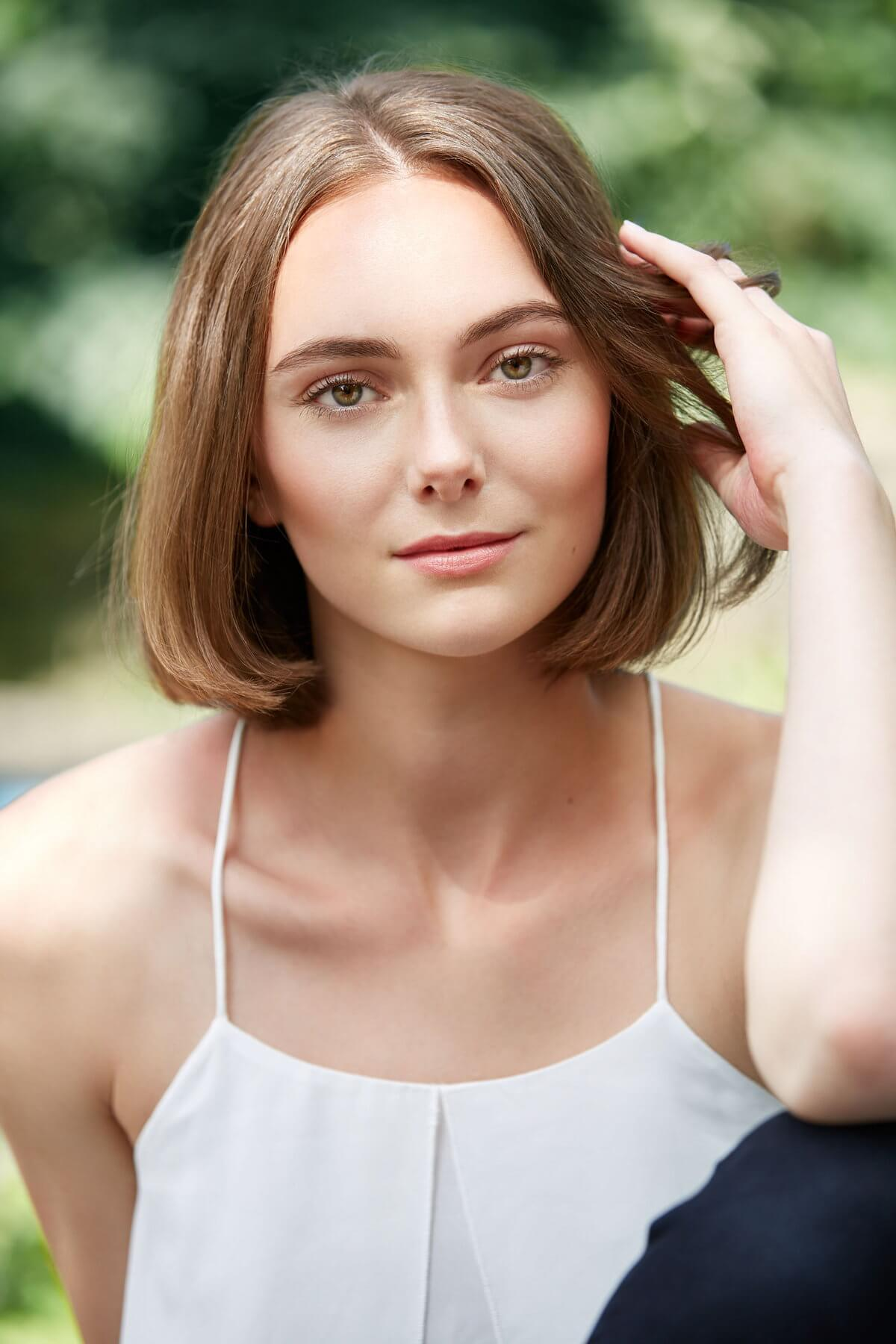 Portraitfotos von Maja